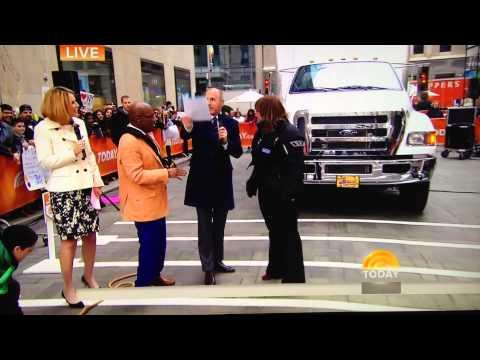 Woman Tries To Pull A Truck Wearing High Heels - Fail
