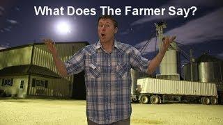 Funny Ylvis Fox Song Parody - Farmers Edition