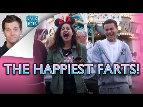 Pranks - Farting Prank At Disney Land