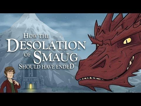 How The Desolation Of Smaug Movie Should Have Ended