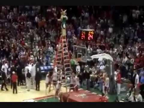 Epic Dunk By A Bango The Mascot
