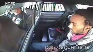 Dumb Drunk Guy Pulls Out A Gun In The Police Cruiser FAIL