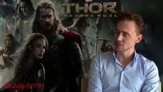 Funny Impressions By Tom Hiddleston (Loki)