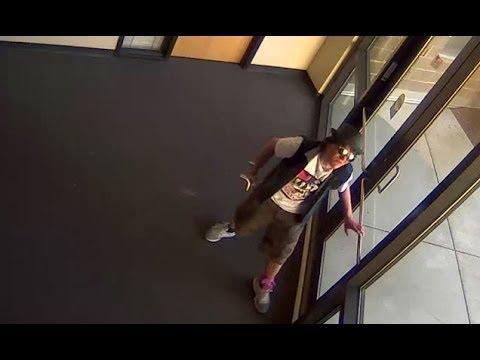 Skateboarder Tries To Break Into Police Station To Get His Skateboard Back