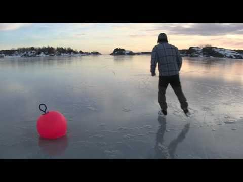 Awesome - Just A Guy In Norway Swimming In Freezing Water