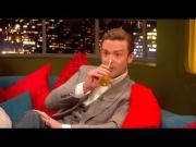 Justin Timberlake And Jonathan Ross Get Drunk