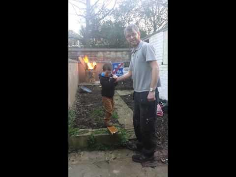 Dad's Prank On His Kid Fail