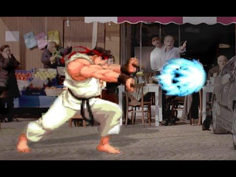 Street Fighter Inspired Ad For Turkish Car Insurance Company