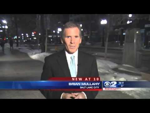 Jokes - Guy Tries To Kiss Reporter Brian Mullahy