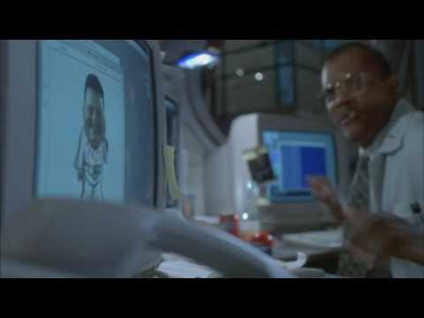 Funny Hacking Scene From Jurassic Park Movie