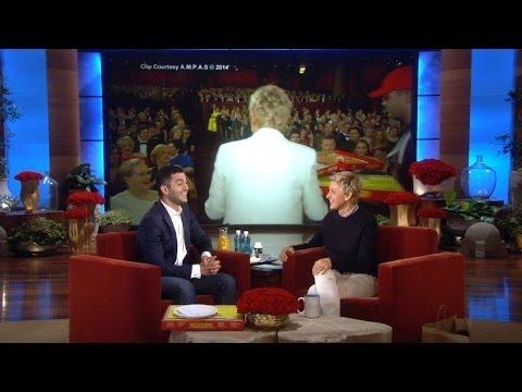 Ellen Tips The Pizza Guy From The Oscars