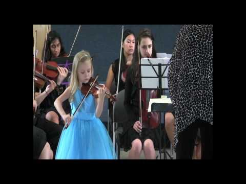 Awesome - 6 Year Old Ursula Park With Amazing Violin Playing Talent