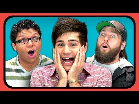 Funny YouTube Stars Reaction To Sir Fedora