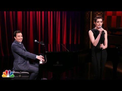 Broadway Cover Of Hip Hop Songs By Jimmy Fallon And Anne Hathaway