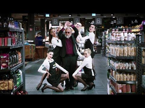 Funny Ad For A German Grocery Store