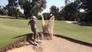 Golf Bunker Shot FAIL
