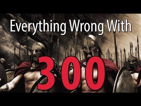 Movie Mistakes From 300