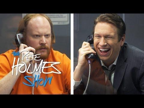 Prisoner Doesn't Like The News - Pete Holmes Show