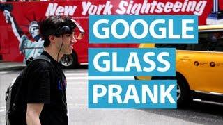 Google Glass Prank Using R-Zone