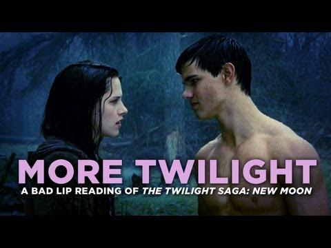 Parodies - Bad Lip Reading Of More Twilight Movie