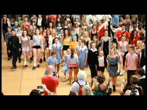 Flash Mob - Flash Mob Dance At Central Station In Sydney Australia