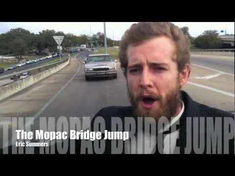 Crazy - Guy Jumps Off A Bridge From A Moving Trick