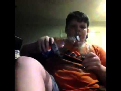 This Kid Is A Rebel - Drinks Pepsi Using Coke Glass