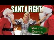 Two Santas Fight For The Seat Prank
