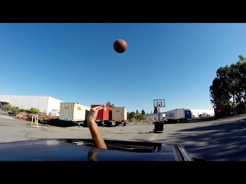 Drive By Basketball Trick Shots