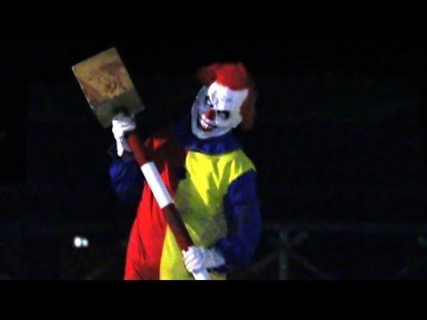 Creepy And Scary Clown Scare Prank