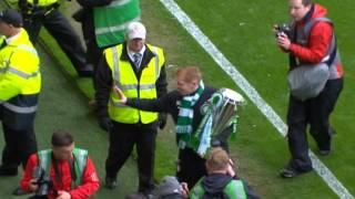 Good Guy Neil Lennon Makes Young Fan's Day