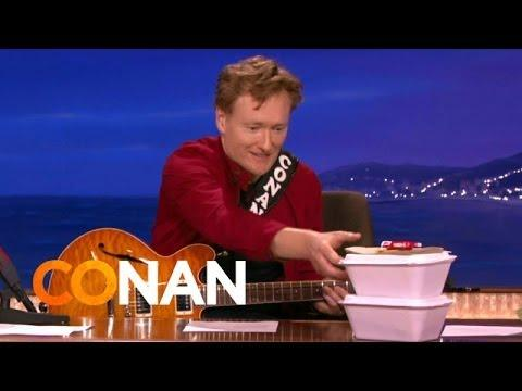 Behind The Scenes Of Conan Eating