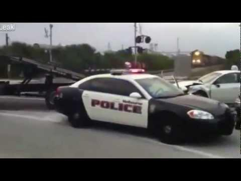 FAIL - Stupid Cop And Tow Truck Driver