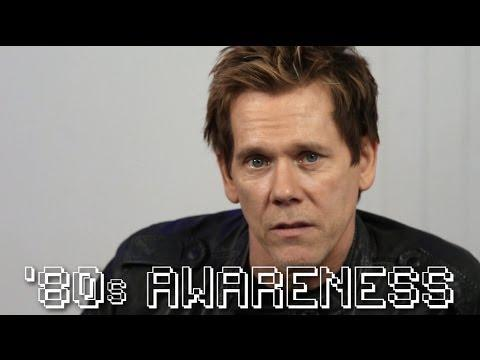 Kevin Bacon Tries To Raise Awareness About The 80s