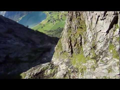 Awesome - Base  Jumping From Mountains
