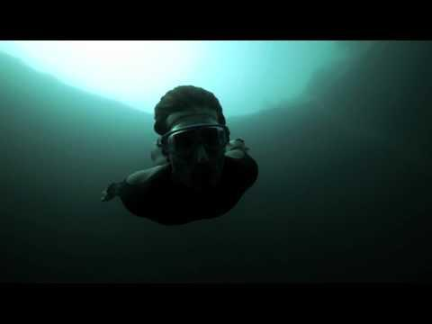 Amazing - Guillaume Nery Base Jumping At Dean's Blue Hole