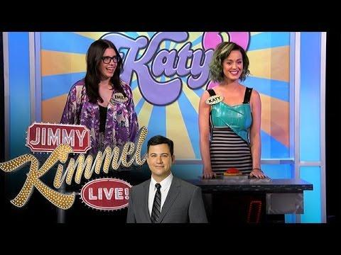 Funny Game Between Katy Perry And Her Fan On Jimmy Kimmel Show