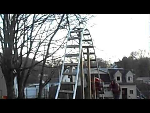 Awesome - Roller Coaster In The Backyard With 12 Ft Drop