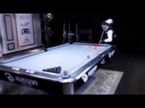 Florian Kohler Shows Off Amazing Pool Shots