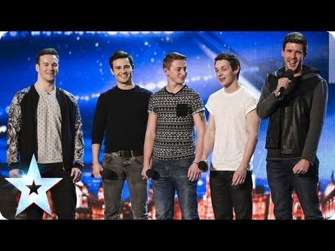Boy Band Collabro Surprise Britain's Got Talent Judges With Les Miserables Stars Song Performance
