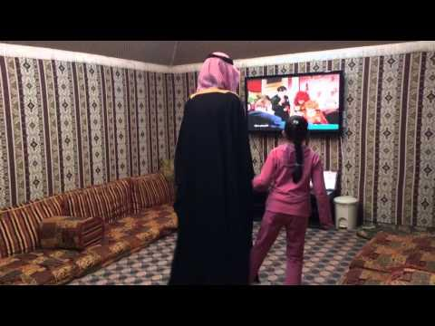 Funny Penguin Dance By Saudis