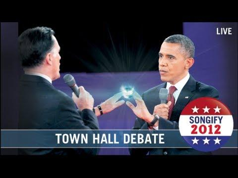 Jokes - Town Hall Presidential Debate Gets Autotuned