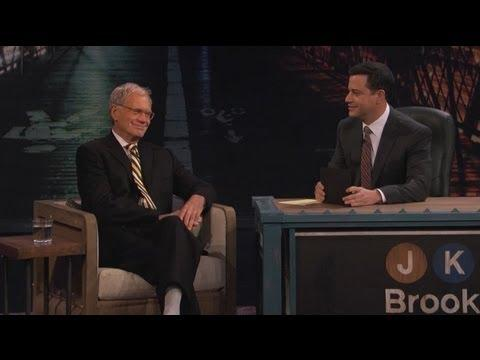 Jimmy Kimmel - David Letterman Visits Jimmy