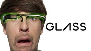 Problems Of Wearing Google Glass Parody