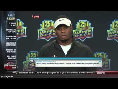 Horrible Interview With Ken Griffey Jr On ESPN