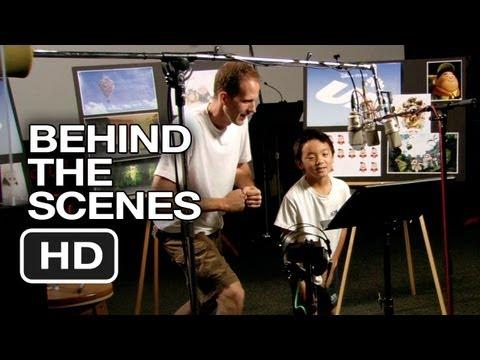 Behind The Scenes Of Up Movie - Voice Actor For Russell