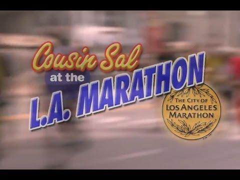 Jimmy Kimmel - Cousin Sal Goes To The LA Marathon