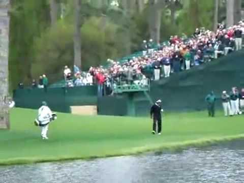 Amazing - Best Golf Shot Ever By Vijay Singh