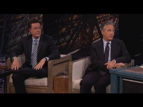 Jimmy Kimmel - Jon Stewart And Stephen Colbert Visit Jimmy - Part 2