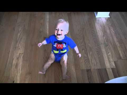 Jokes - Celery Eating Dad Makes Baby Laugh